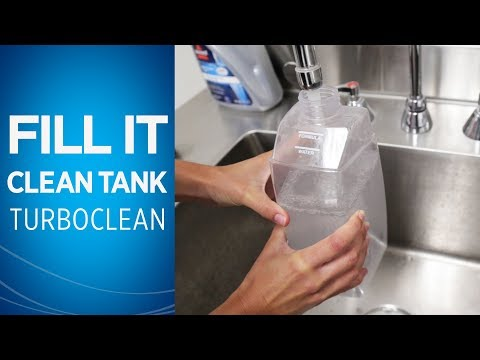 How to Fill the Clean Tank on Your TurboClean/PowerForce PowerBrush Video