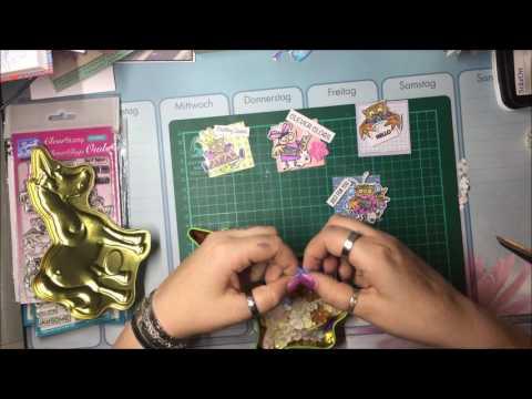 Meine Art der Candy Cards