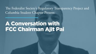 Click to play: A Conversation with FCC Chairman Ajit Pai