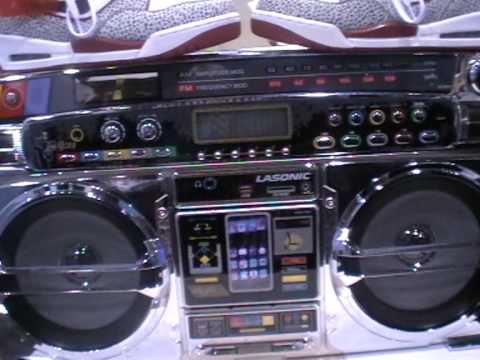 Lasonic iPhone Ghetto Blaster | Next Gen Boom Box!