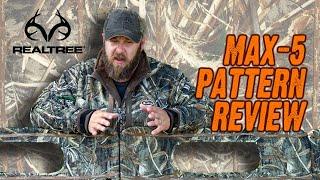Realtree Max-5 Review!