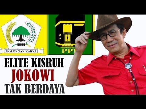 Elite Kisruh Jokowi Tak Berdaya