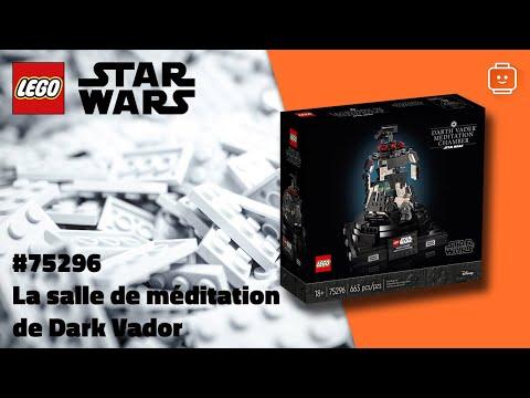 Vidéo LEGO Star Wars 75296 : La salle de méditation de Dark Vador