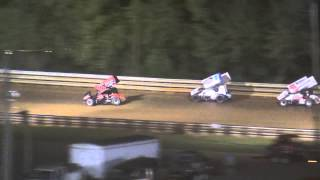 preview picture of video 'Hagerstown Speedway PA Speedweek 410 Sprint Car Highlights 7-03-13'
