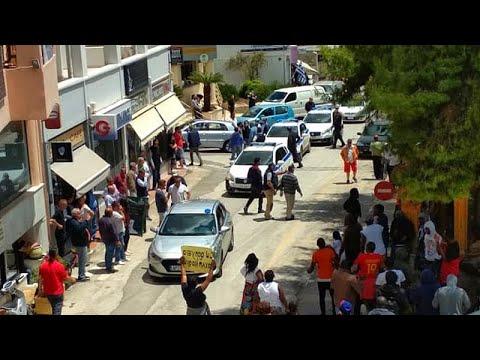 Έσπασαν την καραντίνα και κάνουν πορεία διαμαρτυρίας στο Κρανίδι…