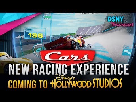 PIXAR CARS Racing Experience Coming To Disney's Hollywood Studios - Disney News - 12/06/18