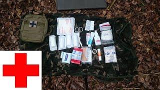 """Inhalt unserer """"Erste Hilfe Tasche"""" (Tasmanian Tiger Tac Pouch 5)"""