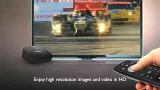 Philips HD-medieafspiller HMP2000 - Netflix & YouTube & Inbygget WiFi