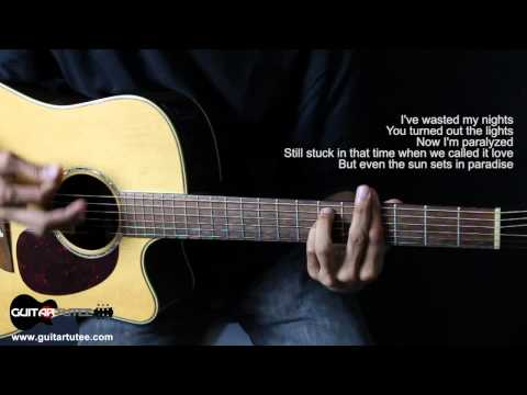 Maroon 5 - Payphone - Guitar Tutee Chords (with Lyrics) Mp3