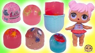 Jelly Layer ! LOL Surprise Outfits Fashion Crush Blind Bag Cups