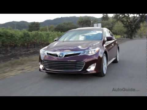 2013 Toyota Avalon Review - Next-gen product in search of next-gen customers