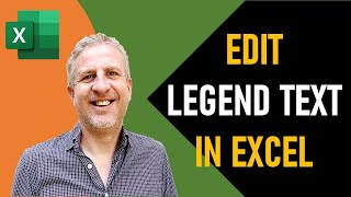 How to Edit Legend Text in an Excel Chart