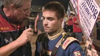 Lincoln Speedway 358 Sprint Car Victory Lane 7-24-11