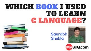 Download Youtube: Which book I used to learn C language? | LIVE  (in Hindi)