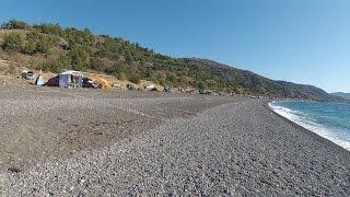 Крым кемпинг в Морском видео обзор.