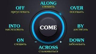 Фразовый глагол Come  с примерами. Фразовый глагол Come в Английском языке