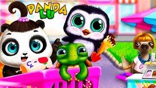 Малышка Панда Лу Игры в Парке Развлечений.Прятки и Мороженое для Малышей.Игровой Мультик для Детей