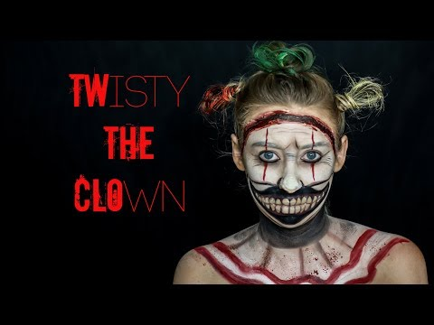 TWISTY THE CLOWN HALLOWEEN MAKEUP TUTORIAL | AMERICAN HORROR STORY