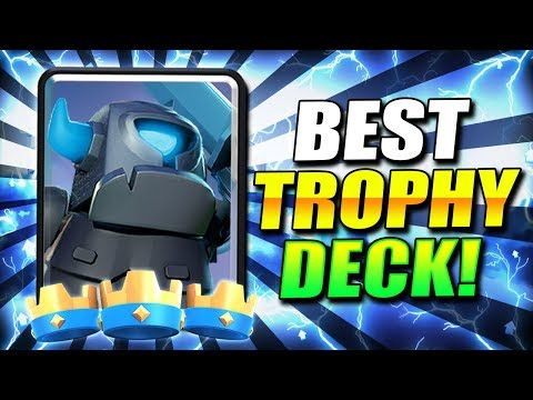 NEW GOLEM MINI PEKKA BEATDOWN DECK IS TAKING OVER!! ~ TOO STRONG!