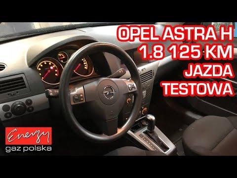 Jazda próbna testowa: Test LPG Opel Astra z 1.8 125KM 2005r w Energy Gaz Polska na auto gaz BRC