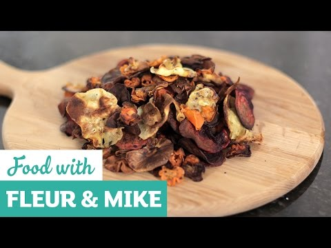 Super Simple Vegetable Crisps | Fleur & Mike