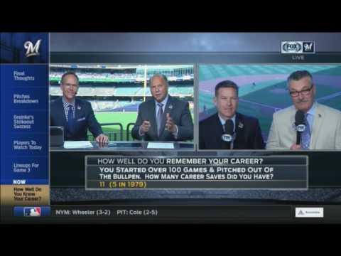 Brewers Trivia: Schroeder, Anderson & Augustine put on hot seat