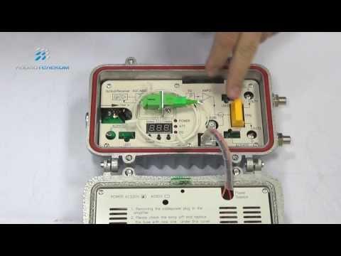 LATEL LR-901, оптический приёмник 114 дБмкВ, -9...+1 дБм, АРУ, SC, 2 выхода