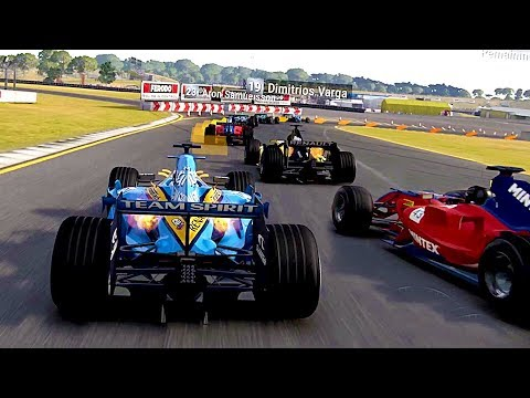 NEW GRID 2019 Game - F1 Car Gameplay! - Alonso's F1 Renault R26 is in GRID!