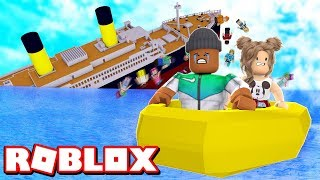*NEW* SURVIVE A SINKING SHIP IN ROBLOX