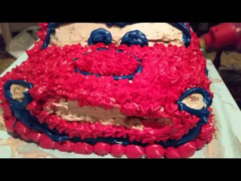 How To Make A Cars Cake Lightning Mcqueen 2018