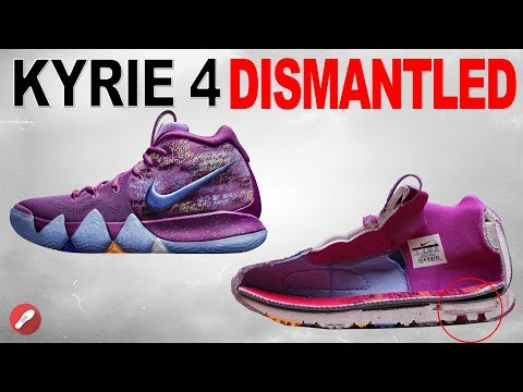 Nike Kyrie 4 DISMANTLED!