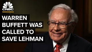 When Buffett Was Called To Save Lehman | Crisis On Wall Street