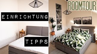 Schlafzimmer Makeover I Ideen & neu dekorieren I Einrichtungstipps