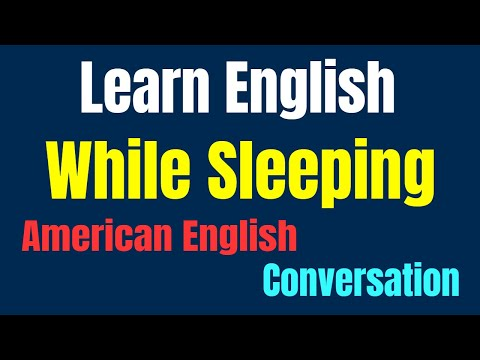 Learn English While Sleeping ★ American English Conversation with Subtitle ✔