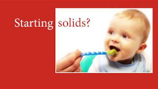 NHSGGC - Starting solids?