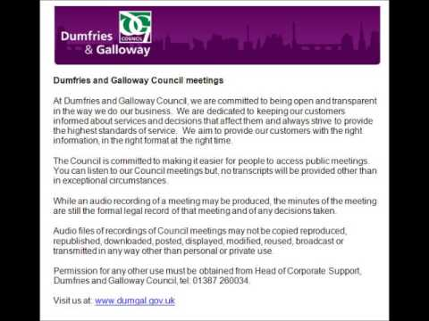 Audio of Housing Sub Committee - 20 March 2014
