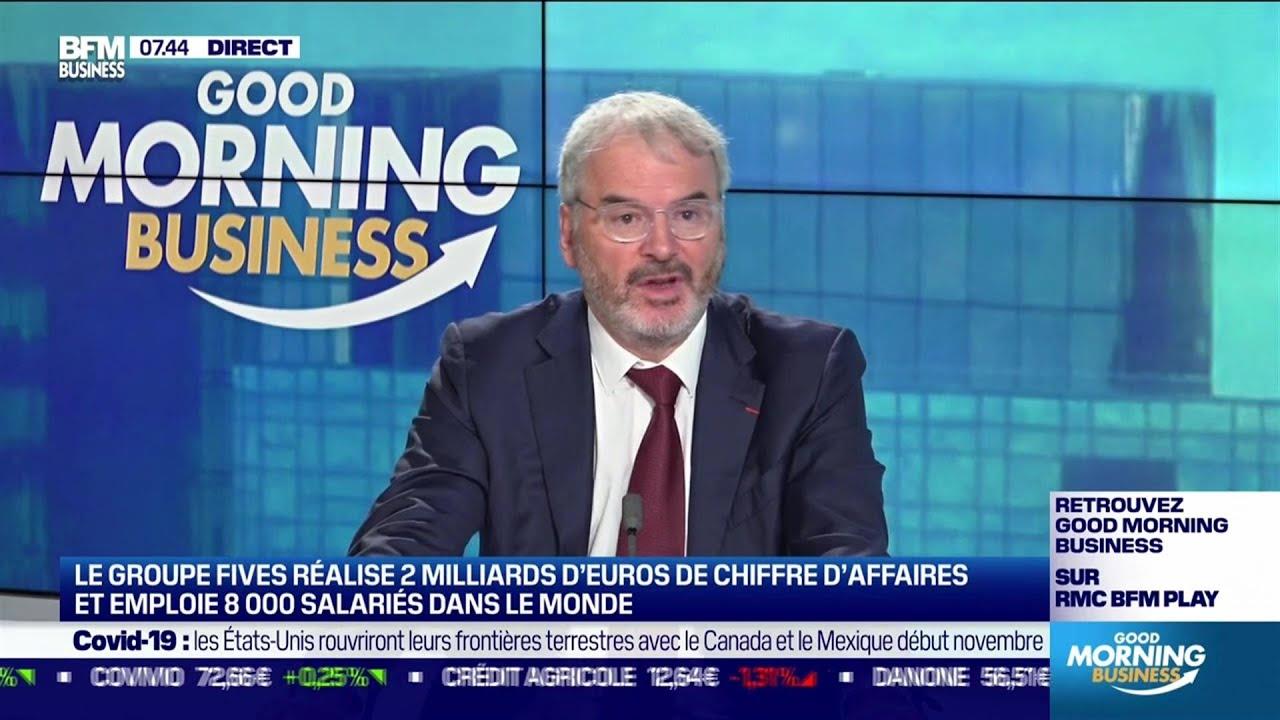 Frédéric Sanchez (Fives) : Fives conçoit des machines pour les plus grands acteurs industriels