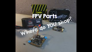 Where do you buy your drone parts? FPV, camera drone etc. #fpv
