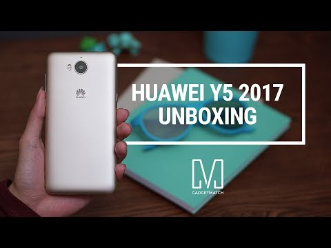 Huawei Y5 2017 Unboxing & Hands On