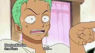 Tidak ada, hanya kau kru kapalku. | One Piece Funny