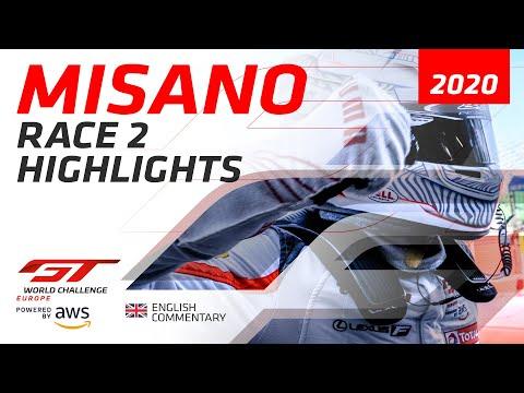 2020年 ブランパンGTシリーズ(ミサノ) レースハイライト動画