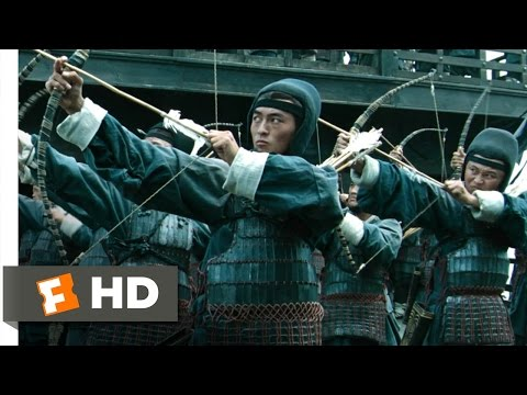 Red Cliff, Part 2 (1/7) Movie CLIP - 100,000 Arrows (2009) HD