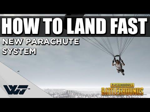 新的跳傘系統 怎麼才能夠飛得更快 更早落地呢?
