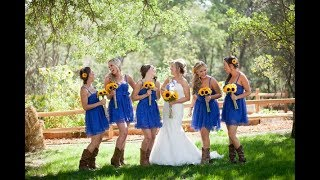 Rustic Country Cowgirl Boots Fall Wedding Ideas
