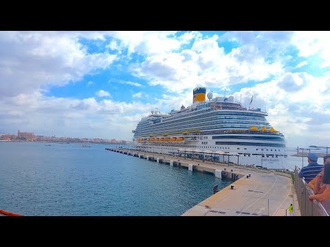 Highlights of Costa Diadema Mediterranean Cruise
