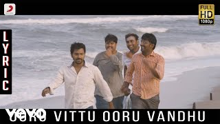 Kappal - Ooru Vittu Ooru Vandhu Remix Lyric   Vaibhav, Sonam Bajwa