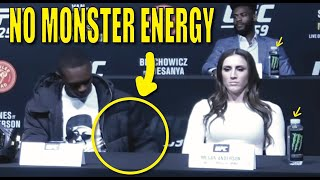 Why Israel Adesanya Doesn't Promote Monster Energy Anymore