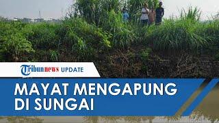 Setelah Tinggalkan Rumah Tanpa Pamit, Wanita di Mojokerto Ditemukan Meninggal & Mengapung di Sungai