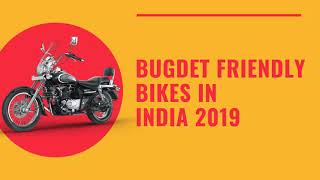 Top 5 Budget Bikes in India [2019]