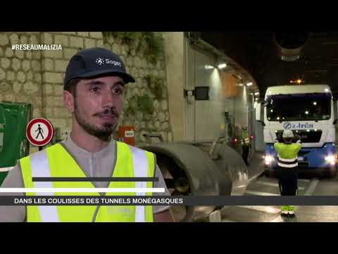 Construction work: Behind the scenes in Monaco's tunnels